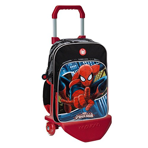 Marvel 24524M1 Spiderman Mochila Escolar, 15.6 Litros, Color Azul