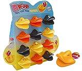WOM Quack, Chupetes de Caramelo con Forma de Pico de Pato, Chupete de Caramelo...