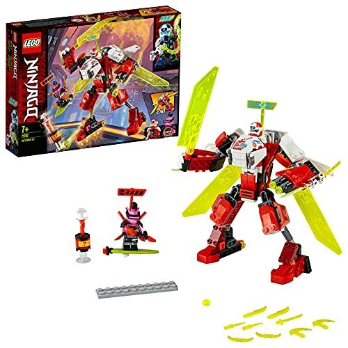 LEGO 71707 Ninjago Robot-Jet de Kai Juguete de Construcción para Niños +7 años con 2 Mini Figuras de Ninjas