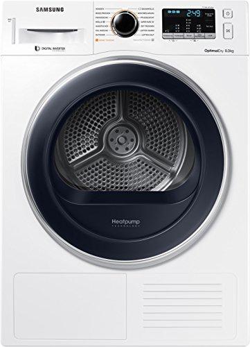 Samsung DV5000 DV81M5210QW/EG Wärmepumpentrockner/8kg/EEK A+++/OptimalDry/Kondenswasserstandsanzeige