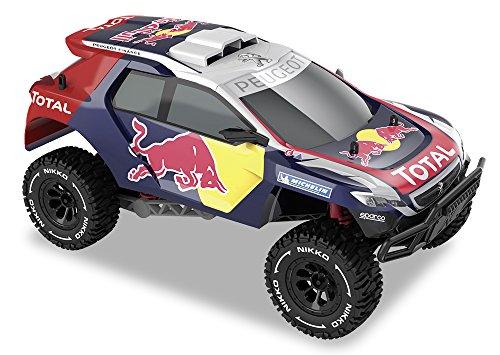 Happy People 36909Nikko RC Elite-Trucks Peugeot 2008DKR 1:14 tlcommande
