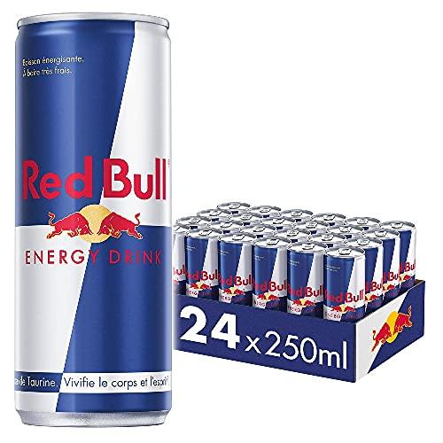 RED BULL Energy Drink Boisson Energisante 24 x 250 ml