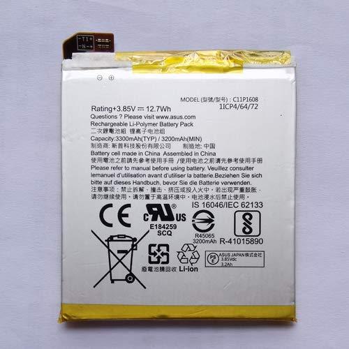 Pattaya Asus Zenfone AR ZS571KL 互換バッテリー 電池パック C11P1608