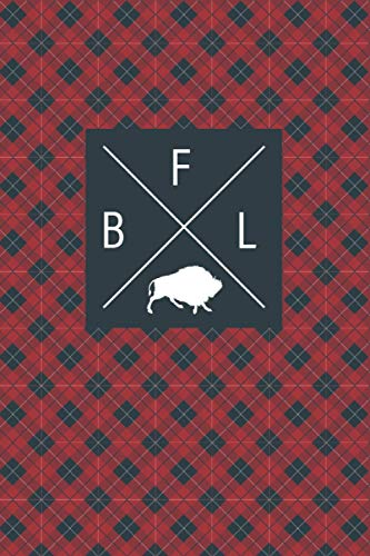 BFL: Buffalo Notebook – Blank Lined Journal to Write In for Animal Lovers