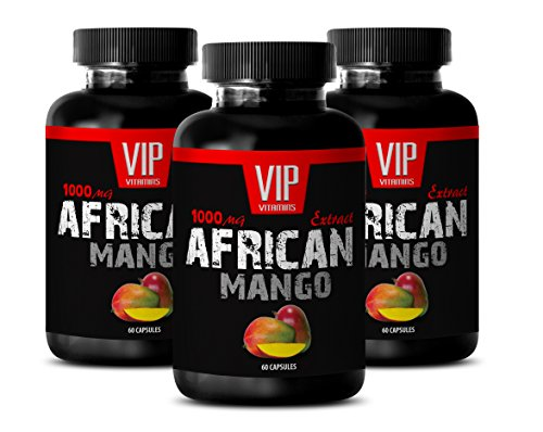 Fat Burner Supplements for Belly Fat - Weight Loss Fat Burner - African Mango Extract - Mango africano Diet Pills - 3 Bottles 180 Capsules