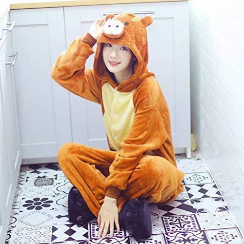 Pijamas Unisex Pijamas de Animales Adultos Pijamas de una