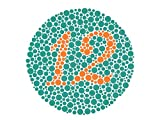 color blindness chart - Ishihara Test Chart Books for Color Deficiency 24 Plates.
