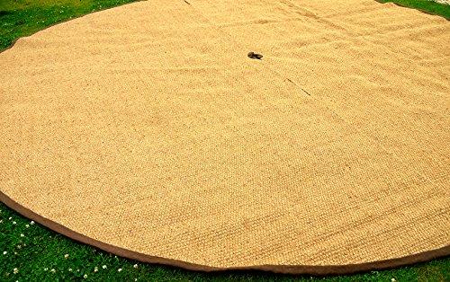 Bell Tent Coir Semi Circle Mat (3m Pair)