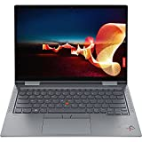 "Latest Lenovo ThinkPad X1 Yoga Gen 6, 11th Gen i7-1165G7, 14.0"" FHD+(1920x1200) IPS, Anti-Glare, Touchscreen, 400 nits,16GB DDR4 RAM, 512GB SSD, Integrated Pen, 3 Year Warranty, Win10 Pro - Storm Gray"