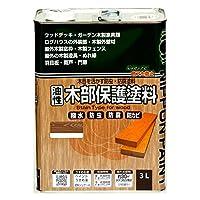 ニッペ 油性木部保護塗料3L チーク