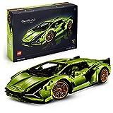 LEGO 42115 Technic Lamborghini Sián FKP 37 Coche de Carreras, Set de Construcción Avanzado para Adultos, Modelo Exclusivo de Coleccionista