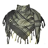 MNBVC Tactical Desert Scarf Cotton Summer,Camouflage