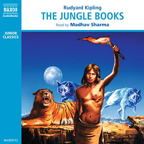 The Jungle Books audiobook cover art