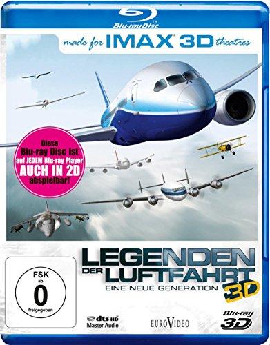 IMAX: Legenden der Luftfahrt - Eine neue Generation [3D Blu-ray]