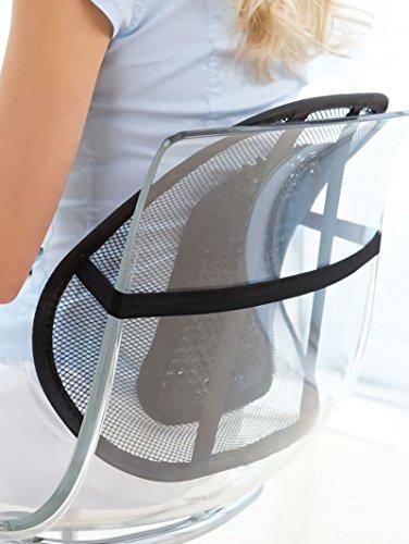 Schienale ergonomico per sedie e sedile auto relax. MEDIA WAVE store