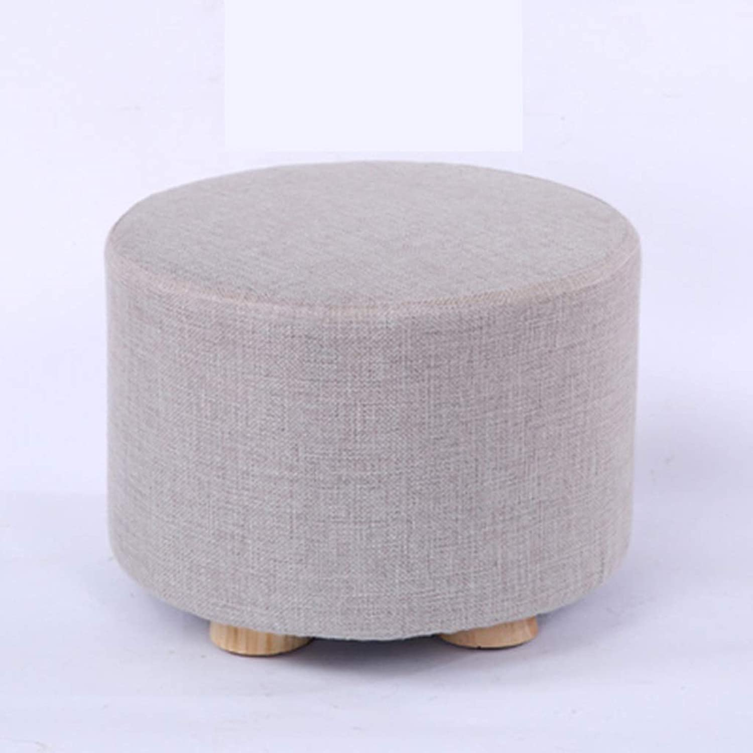 RHHWJJXB Cloth Stool Home Creative Stool Seat Small Bench Fashion Sofa Stool Solid Wood Stool Stool Coffee Table Without Legs (color   C)