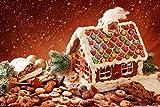 Wmbz Puzzle casa de Pan de Jengibre y galletas-500 Pieces