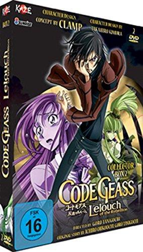 Code Geass - Lelouch... - Box 2 [LE] [2 DVDs] Code Geass - Lelouch... - Box 2 [LE] [2 DVDs] [Import allemand]