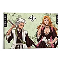 Anime Poster BLEACH Canvas Art Poster Living Room Mural Home Wall Decoration Picture 12×18inch(30×45cm)