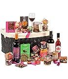 Ducs de Gascogne - Panier gastronomique 'Corne d'abondance' - comprend 23 produits dont un foie gras - Spécial cadeau Noël - 944963