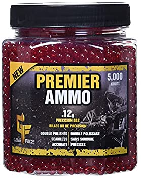 GAME FACE ASP512 Premier Ammo .12-Gram Red Airsoft BBs  5,000-Count