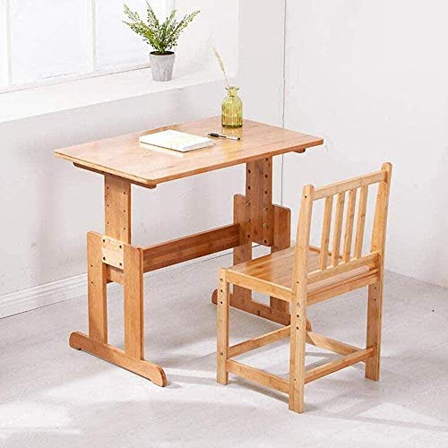 Computer Table Armchair Laptop Table Children's Desk Chair Set Height Adjustable Kids Student School Study Table Work Station Drop-Leaf Table Drawer Stool Chair,Without Drawer