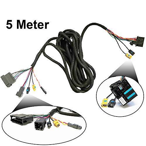 TAFFIO® Mercedes Benz E/CLS W211 W219 APS50 Autoradio Lichtleiter Kabel LWL Adapter