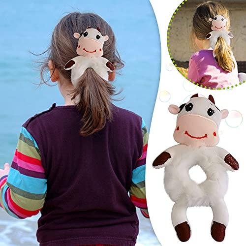 Zldhxyf Gomas elásticas para el pelo para bebé y niña, 3D, con diseño de animales