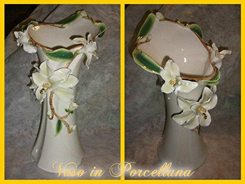 Vase en porcelaine Motif Magnolia