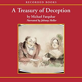 A Treasury of Deception audiobook cover art