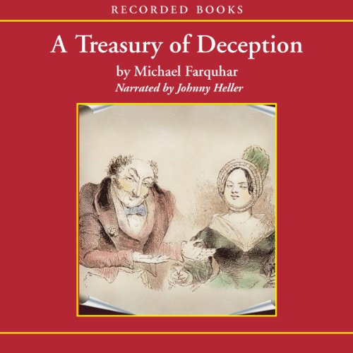 A Treasury of Deception audiobook cover art
