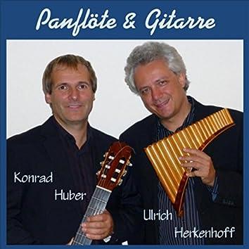 Panflöte und Gitarre