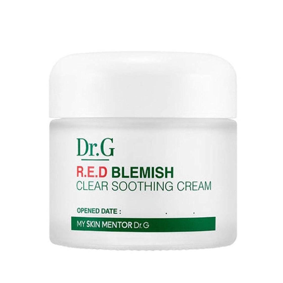 貝殻反対したインレイドクターGレッドブレミッシュクリアスージングクリーム70ml水分クリーム、Dr.G Red Blemish Clear Soothing Cream 70ml Moisturizing Cream [並行輸入品]