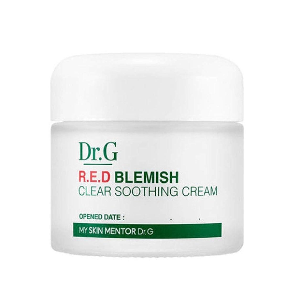 かわいらしい粘着性領収書ドクターGレッドブレミッシュクリアスージングクリーム70ml水分クリーム、Dr.G Red Blemish Clear Soothing Cream 70ml Moisturizing Cream [並行輸入品]