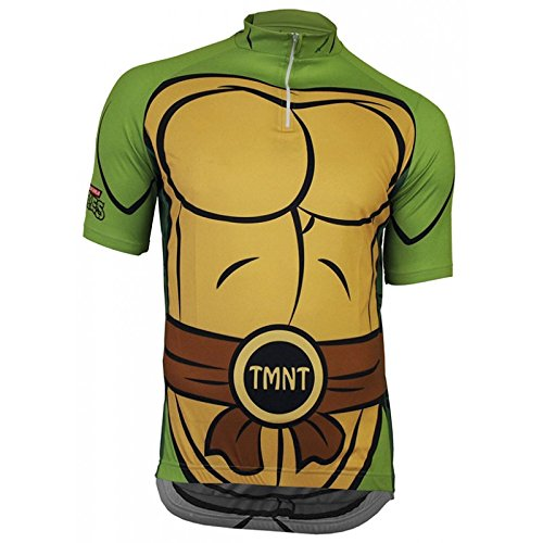 Sciabola Teenage Mutant Ninja Turtles–per Bicicletta Maglietta, Unisex, Teenage Mutant Ninja Turtles, Verde - Verde