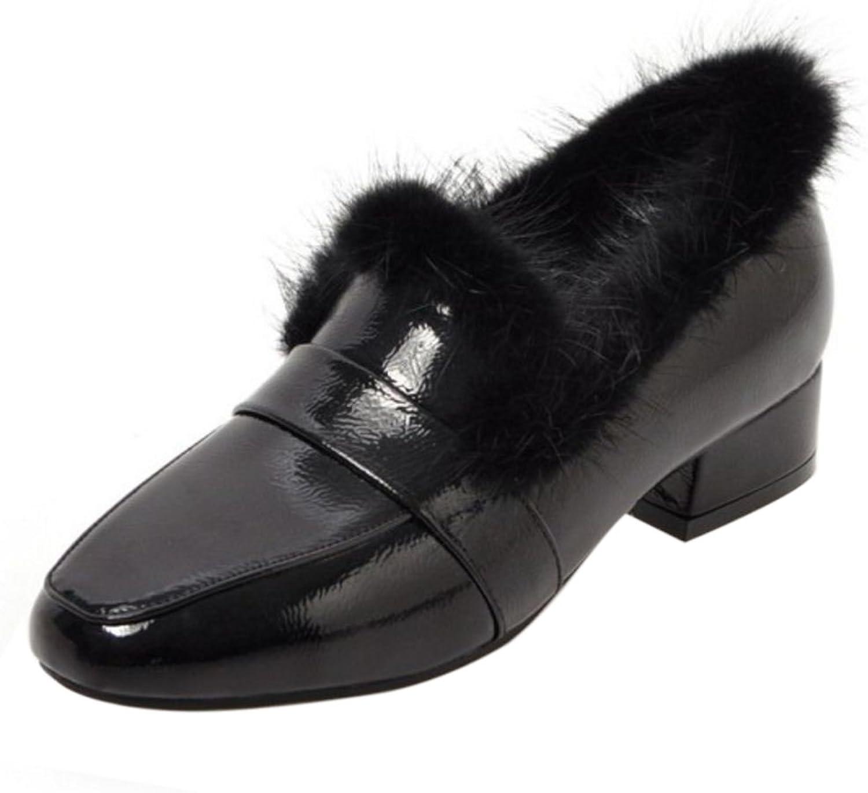 AicciAizzi Women Simple Boots Zipper