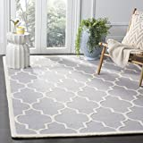 Safavieh Cambridge Collection Area Rug, 8' x 10', Silver/Ivory