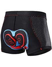 Lixada Mannen Fietsen Onderbroek 3D Gewatteerde Ademend Mesh MTB Bike Rijden Fietsen Ondergoed Shorts