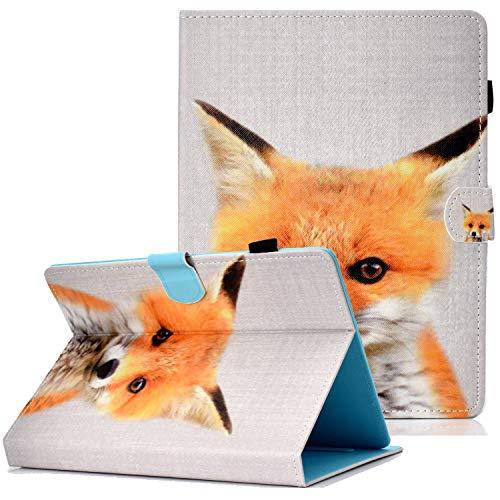 Coopts Schutzhülle für iPad 9.7 2018 2017/iPad 2 3 4/Kindle Fire HD 10/Samsung Galaxy Tab A 10.1 T510/Tab A 10.5 T590 E-Fox
