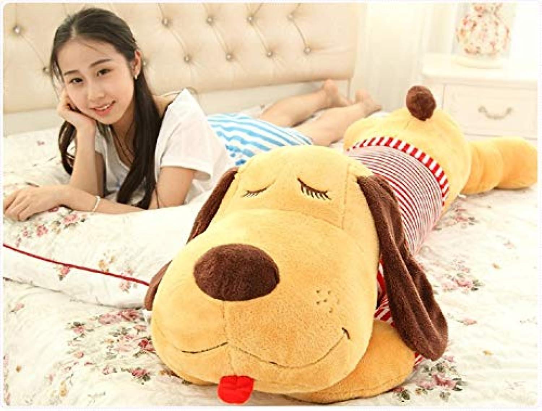 Fumak Dog Shape 2 Size 68cm 88cm Pillow PP Cotton Filler Funny Creative Home Toy Doll Cervical Bedroom Pillow Embrace Sleeping Pillow (pattern4, 88cm)