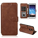 PHONETABLETCASE+ / for Compatible with HUAWEI Mate 10 Lite / Maimang 6 Texture de veau Boucle...