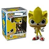 Bobblehead POP de Sonic-Super Sonic Hedgehog ultrasónico decoración del coche Ratón (Color :...