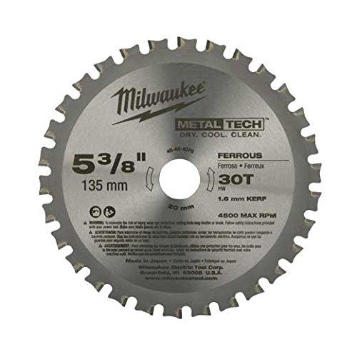 Milwaukee 48-40-4070 5-3/8-inch 30T Ferrometalen mes
