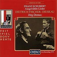 Selected Songs by FRANZ SCHUBERT (2000-10-17)
