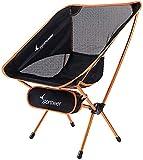 Sportneer Campingstuhl, Tragbar Leicht Faltbar Camping Stuhl bis zu 150 kg für Backpacking/Wandern/Picknick/Fische