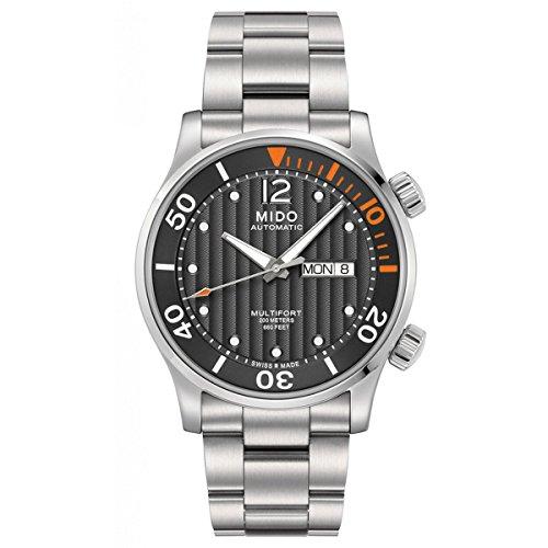 Mido Herren-Armbanduhr XL Multifort Chronograph Automatik Edelstahl M0059301106000