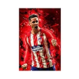 Fernando Torres Poster mit Fußballbewegung,