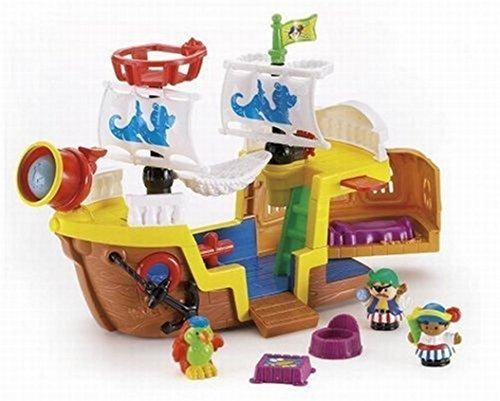 Mattel - Little People J4419-0 - Piratenschiff