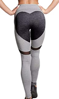 Dawwoti Running Tights for Women Slimming Yoga Pants 4 Way Stretch Running Tights