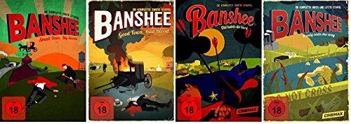 Banshee Staffel 1-4 (1+2+3+4) Die komplette Serie [DVD Set]